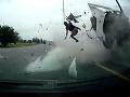 Z VIDEA z tragickej nehody naskakujú zimomriavky: Toto sa stane, keď zaspíte a nezapnete si pás