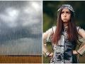 PREDPOVEĎ počasia: Slovensko trápia búrky a silný vietor, meteorológovia predpovedajú aj krúpy