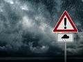 Majte sa na pozore: Varovanie meteorológov, Slovenskom sa opäť preženú silné búrky