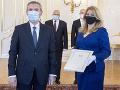 Prezidentka prijala troch nových veľvyslancov: Odovzdali jej poverovacie listiny