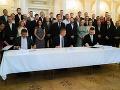 Je to definitívne: SMK, Most-Híd a Spolupatričnosť deklarovali vytvorenie spoločnej strany