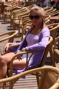Ivana Surovcová na Magio pláži