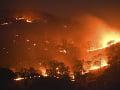 Na juhu Grécka vypukol požiar: Evakuovali niekoľko dedín