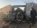 Šokujúce detaily pádu ukrajinského lietadla v Iráne: Piloti po zásahu prvej rakety ešte žili