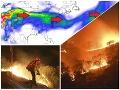 Najväčšie požiare vhistórii Kalifornie: FOTO Škodlivý dym sa tlačí do Európy