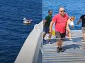 Dráma v Grécku! VIDEO Dievčatko na nafukovacom jednorožcovi odniesol prúd na otvorené more