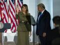 Druhý deň zjazdu republikánov: Pompeo, Eric Trump a prvá dáma vyjadrili podporu Donaldovi Trumpovi