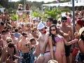 Takto to vyzerá na párty v Chorvátsku.