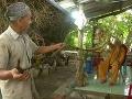 VIDEO Starček (92) má päť metrov dlhé vlasy: Neumýval si ich 80 rokov