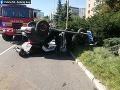 FOTO Tragédia v Košiciach! Auto skončilo na streche, vodič za nehodu nemohol: Bolestivá príčina