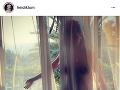 Heidi Klum zverejnila na instagrame odvážnu fotku, ktorej autorom je jej manžel Tom Kaulitz.