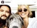 Heidi Klum, Tom Kaulitz a ich chlpatý miláčik.