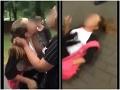 VIDEO brutálnej bitky medzi školáčkami! Do obete dievčatá kopali aj po tom, čo skončila na zemi