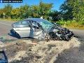 Vážna dopravná nehoda pri obci Fekišovce: Desivé FOTO čelnej zrážky