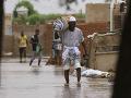 FOTO Veľké záplavy v Sudáne: Vláda vyhlásila trojmesačný stav núdze