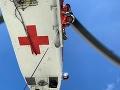 Rušná sobota záchranárov: Nehoda cestou na zásah aj úmrtie poľského turistu po páde