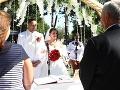 VEĽKÁ FOTOGALÉRIA zo svadby Cigánikovej: Drucker s krásnou ženou po boku, aj Sulík s vareškou!