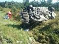 PRÁVE TERAZ Smrteľná nehoda pri Gbeloch: Jeden mŕtvy po kolízii kamióna s autom, desivý pohľad!