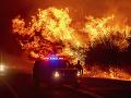 Požiare v USA neutíchajú: Evakuovali vyše pol milióna ľudí, hlásené sú ďalšie obete
