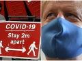 Britskí experti bijú na poplach: Navrhujú nový lockdown, Johnson zvažuje miernejšie opatrenia