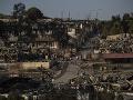 Požiar zničil utečenský tábor