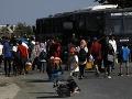 Migranti sa presúvajú so