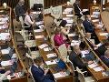 Poslanci sa zídu opäť v utorok: Čaká ich ešte viacero poslaneckých návrhov