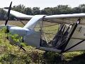 Pri Vranove nad Topľou našli rozbité lietadlo: FOTO Jeho pôvod je neznámy, posádka chýbala