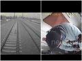 VIDEO, z ktorého tuhne krv v žilách! Na dieťatko sa rútil vlak, blesková reakcia rušňovodiča