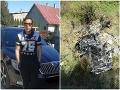 Tragédia v Huncovciach: Zdemolované auto si nik nevšimol! Zlá predtucha Radkovej (†18) matky sa vyplnila