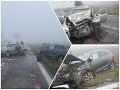 Zbytočne vyhasol mladý život! FOTO tragickej nehody pri Nových Zámkoch, osudový manéver v rannej hmle