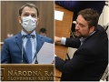 VIDEO Hodina otázok sa poriadne zvrhla: Premiér si podal Blahu, vulgarizmy v parlamente!