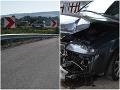 Vodič špekulant nepochodil: FOTO Na D1 poškodil zvodidlá aj stĺpiky a ušiel, prezradil ho nález v tráve