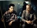 Tom Cruise a Paul Newman