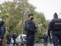 Francúzski policajti na mieste