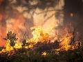 Požiar na Novom Zélande zničil desiatky domov