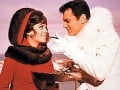 Natalie Wood a Tony Curtis