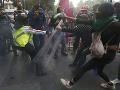 FOTO Ženy v Mexiku žiadali legálne interrupcie: Došlo k zrážkam s políciou