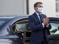 Macron sa stretol s irackým premiérom: Upozornili na dôležitosť boja proti terorizmu
