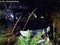 Tragická dopravná nehoda medzi Starým Smokovcom a Popradom, o život prišiel vodič