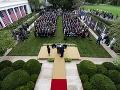 FOTO Takto sa Trump nakazil KORONAVÍRUSOM: Na podujatí v Bielom dome došlo k superšíreniu, tvrdí Fauci