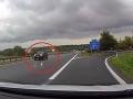 Šoférka sa omylom ocitla na diaľnici do Bratislavy: Vyriešila to po svojom! Nebezpečný manéver urobil aj vodič na VIDEU