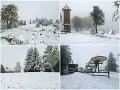 Slovensko v zajatí počasia: Stredoslováci sa zobudili do bieleho rána, FOTO nové varovania!