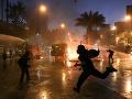 Výročie hromadných protestov v Čile poznačilo násilie