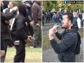Muži, ktorí hádzali dlažobné kocky po policajtoch, majú poriadny problém! Hrozí im až 25 rokov