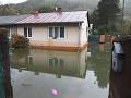 FOTO Voda nás potrápi aj dnes: Na Záhorí a v okolí Košíc platia výstrahy pred povodňami