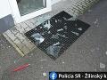 Nebezpečný výtržník (23) v Bytči: FOTO Krádež a vyhrážky, polícia musela zasahovať