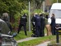 Polícia muža na úteku