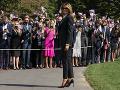 KORONAVÍRUS Melania Trumpová sa pre kašeľ neobjaví na predvolebnom zhromaždení