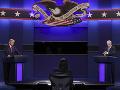 Posledná prezidentská debata v USA: Vypnuté mikrofóny, pochvala moderátorky aj nečakaný záver diskusie